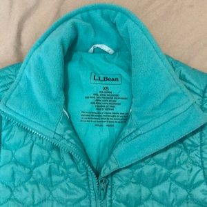 L.L Bean Quilted Midweight Vest
